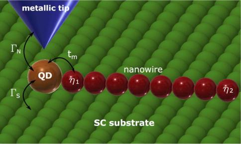Interplay between correlations and Majorana mode in proximitized quantum dot